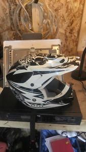 Youth motocross helmet
