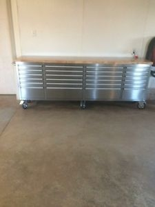 brand new never used stainless steel tool box