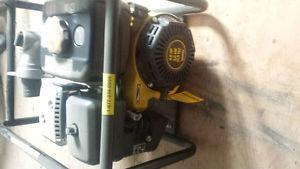 coleman 4hp trash pump