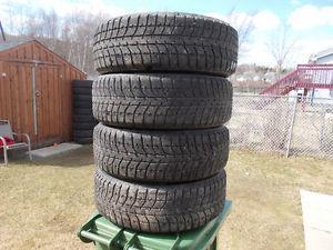 p inch Bridgestone Winter Tires / Ford Focus Rims