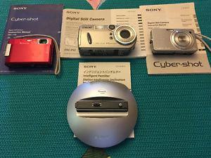 3 Sony Cameras
