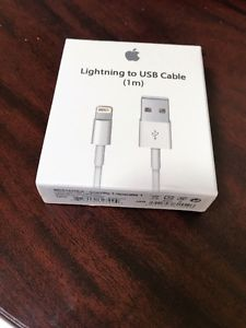 B/N Apple Brand 8Pin Lightning Cable for iPhones, iPaads &