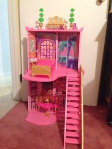 Barbie castle.