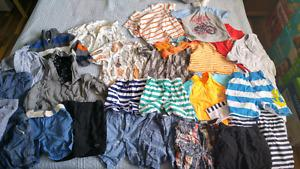 Boys summer lot size 2T