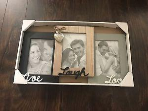 Brand New Triple Picture Frame
