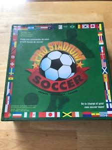 Brand new, Pro Stadium Soccer board game.