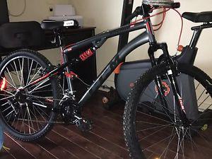 Brand new duel shock mountain bike 250$
