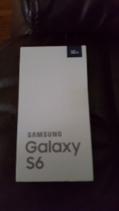 Brand new in box galaxy s6