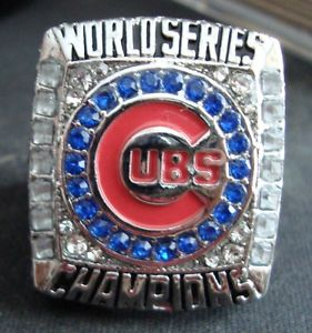 Chicago Cubs World Series Replica Ring - Bryant