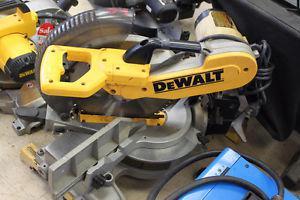 """DeWalt DW"""" double bevel compound miter saw"""