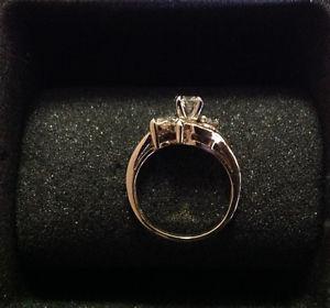 Elegant Custom Designed Engagement Ring.