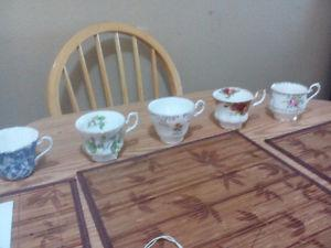 Fine China. Many different patters