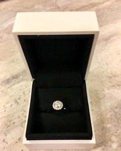 Forevermark Halo engagement ring