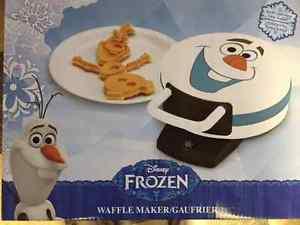Frozen/Olaf Waffle Maker