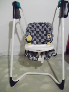 Graco Baby Swing and Jolly Jumper