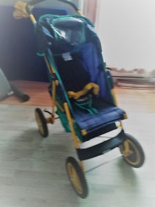 Graco Stroller with big wheels 60$ firm...this week.