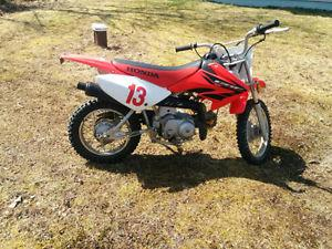 Honda 70 dirt bike