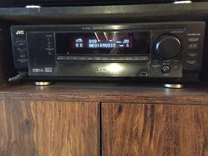 JVC HOME THEATRE RECEIVER AMPLIFIER and CENTRIOS SPEAKERS