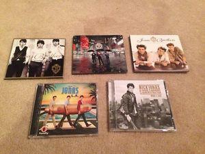 Jonas Brothers CD's & Nick Jonas