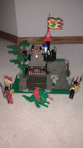 LEGO Castle # Dark Dragon's Den Complete