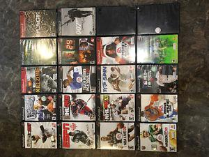Lot of 20 PS2 games