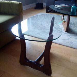 Midcentury modern side tables