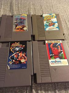 NES Games Forsale Super C Super Mario Bros. 2