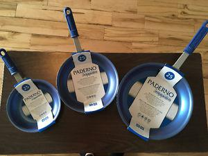 New Paderno sapphire pans