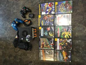 Nintendo Game Cube with 11 games