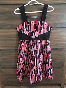 Printed Kensie Dress, Size S