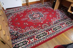 Red Oriental Rug ~ 8' x 10'
