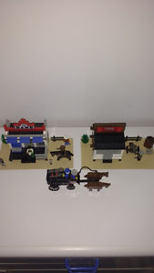 Selling Lego  (Western) Gold City Junction 100% Complete
