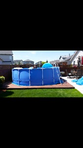 Swimming pool 16ft x 52in above ground