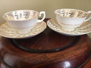 Teacup and saucer fine bone china
