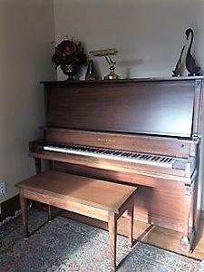 Upright Piano by Mason & Risch - $350
