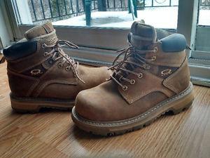 Woman Steel Toe work boots