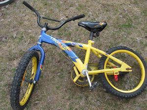 boys bike with 16 inch tire