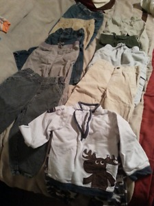 18 to 24 month boys clothing lot