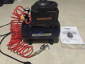 2 Gallon Mastercraft Air Compressor