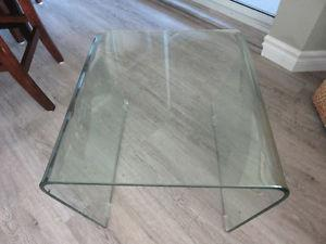 2 Glass Coffee Tables