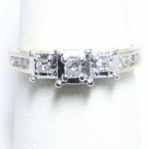 .25ct PRINCESS CUT DIAMOND RING