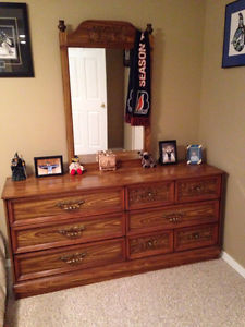 4 piece bedroom dresser set