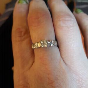 .50 CARAT PRINCESS CUT DIAMOND RING