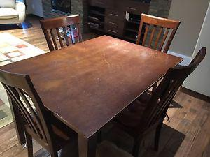 5pc Solid Wood Dinette Set