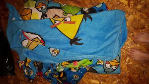 Angry birds blanket set