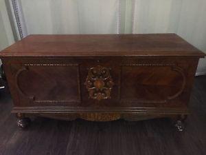 Antique chest $275