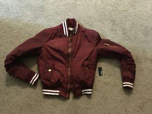 Bomber jacket (new with tags) never worn