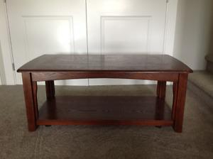 Coffee table with 2 matching side tables