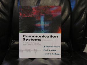 Communication Systems: An Introduction to Signals and