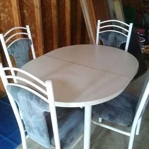 Dining Table and 4 Chairs - LIKE NEW CONDITION